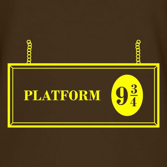 Platform Nine And Three Quarters T-Shirts for Kids