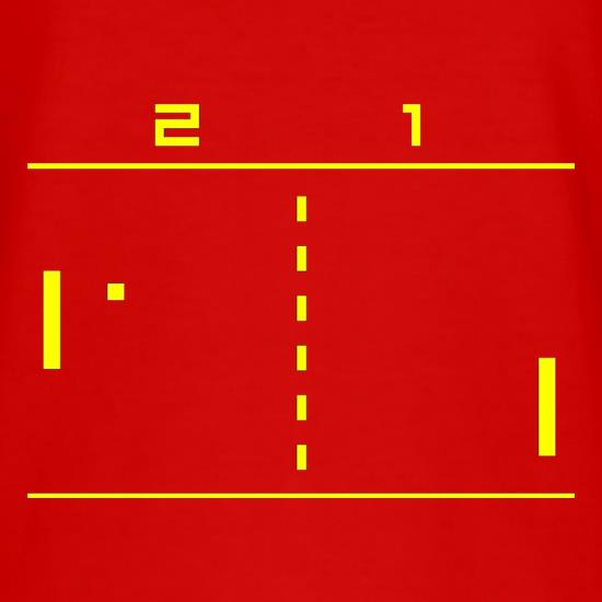Pong Computer Game T-Shirts for Kids