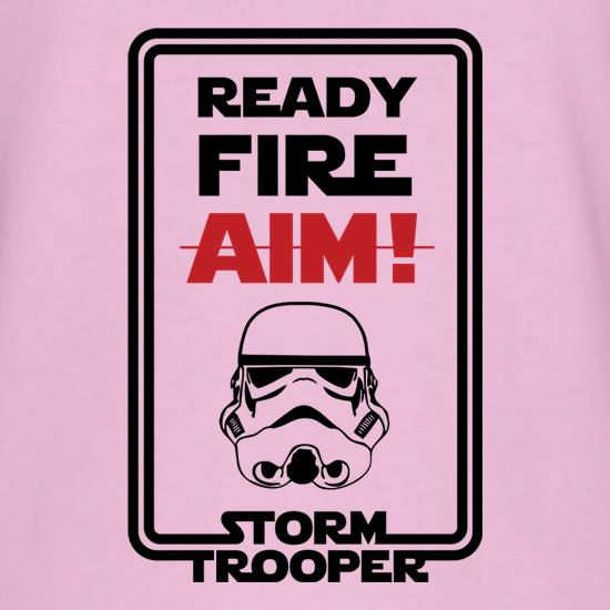 Ready Fire Aim T-Shirts for Kids