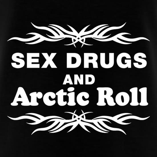 Sex Drugs And Arctic Roll T-Shirts for Kids