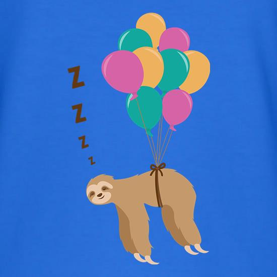 Floating Sloth T-Shirts for Kids