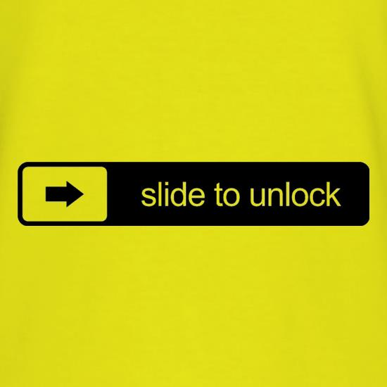 Slide To Unlock T-Shirts for Kids