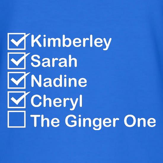 The Ginger One T-Shirts for Kids