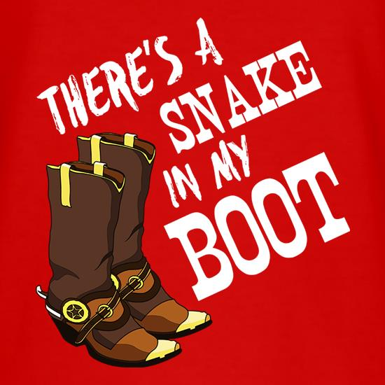 There's A Snake In My Boot T-Shirts for Kids