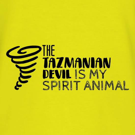 The Tazmanian Devil Is My Spirit Animal T-Shirts for Kids