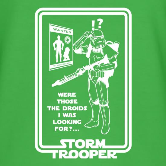 Were Those The Droids I Was Looking T-Shirts for Kids