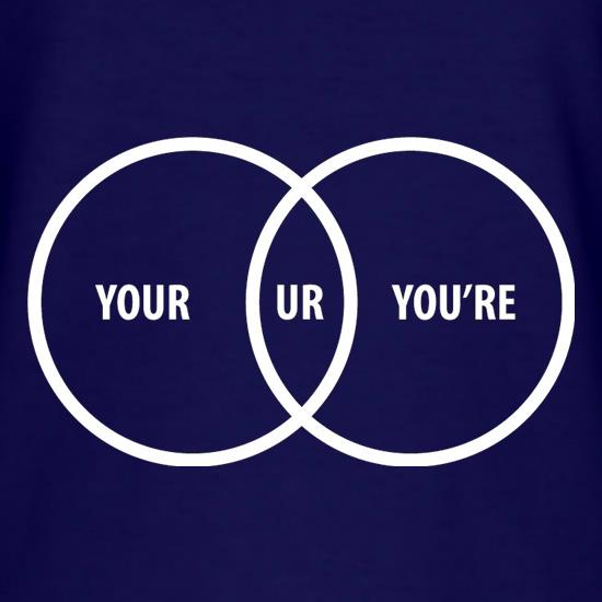 Your Ur You're T-Shirts for Kids