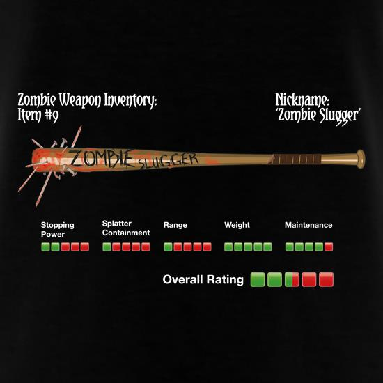 Zombie Slugger T-Shirts for Kids