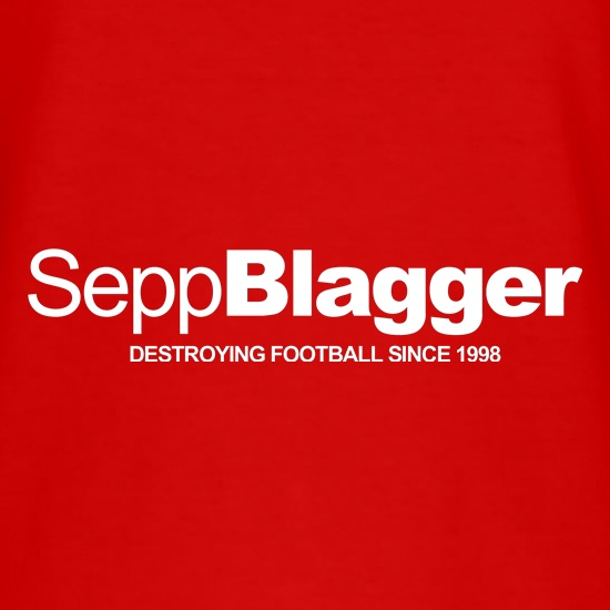 Sepp Blatter...Destroying football since 1998 t-shirts