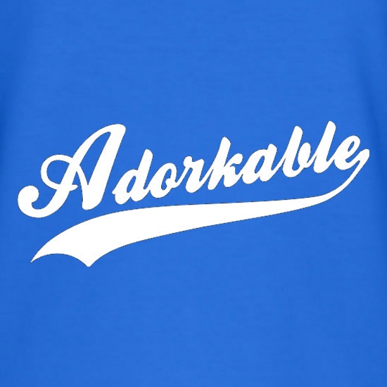 Adorkable t-shirts