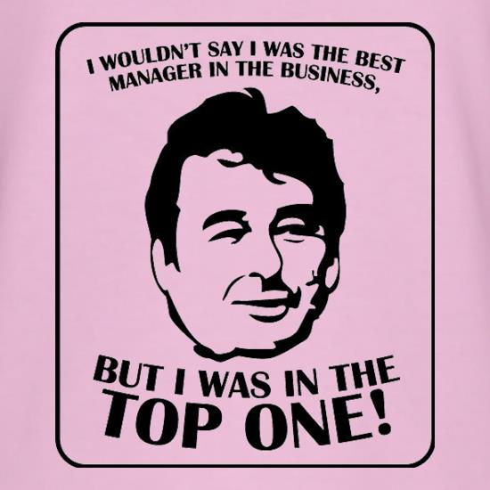 Brian Clough t-shirts