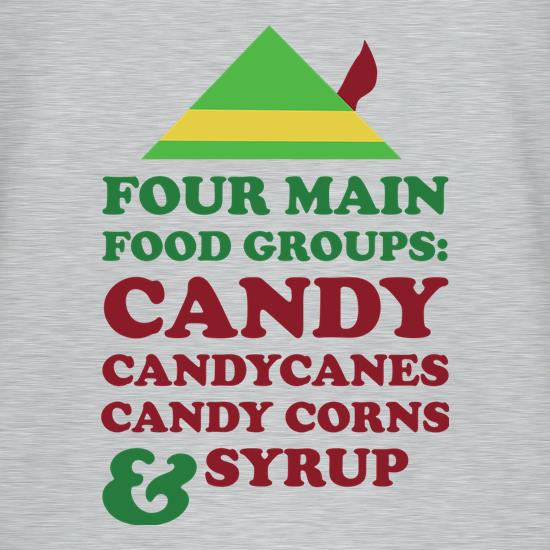 Four Main Christmas Food Groups t-shirts