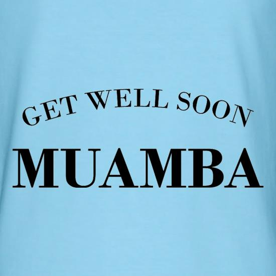 Get Well Soon Muamba t-shirts
