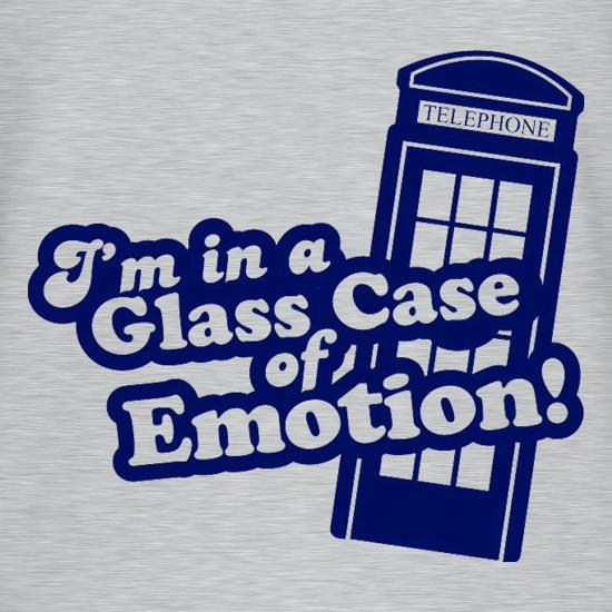 I'm In A Glass Case Of Emotion! t-shirts
