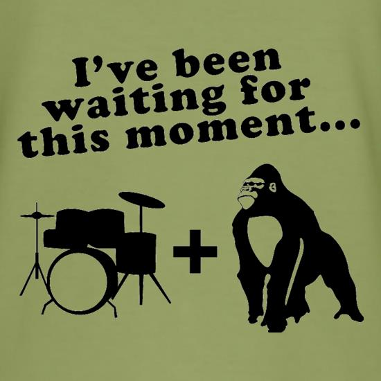 Gorilla + Drums t-shirts