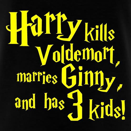 Harry Potter Spoiler t-shirts