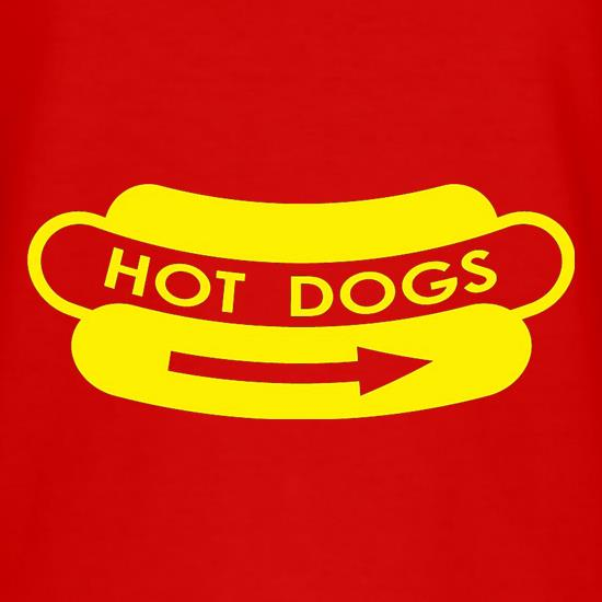 Hot Dogs t-shirts