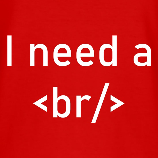 I Need A Break t-shirts