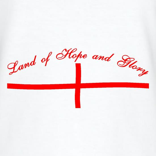 Land of hope and Glory t-shirts