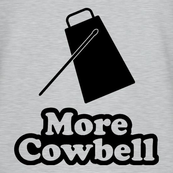 More Cowbell t-shirts