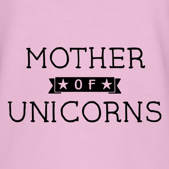 Mum Of Unicorns t-shirts