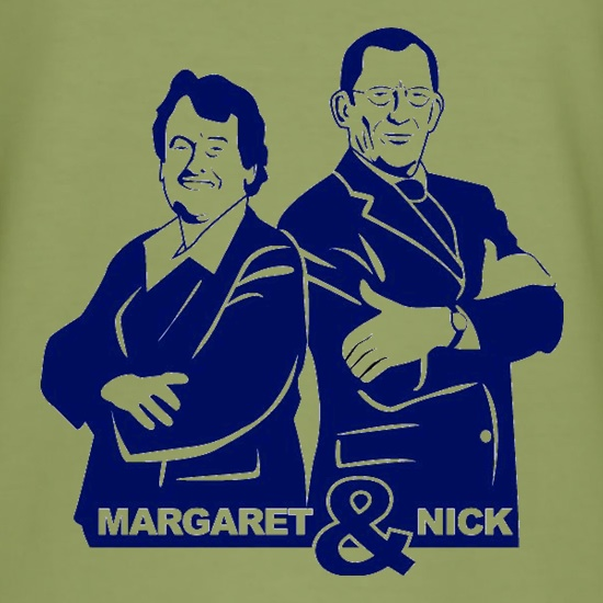 Nick & Margaret t-shirts