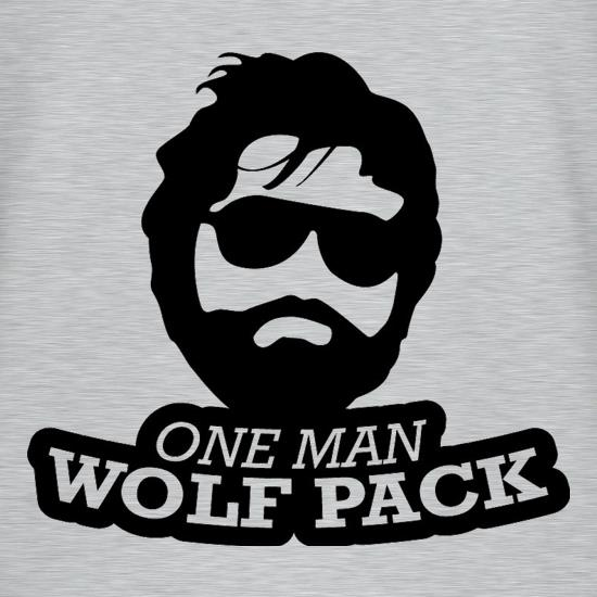 One Man Wolf Pack t-shirts
