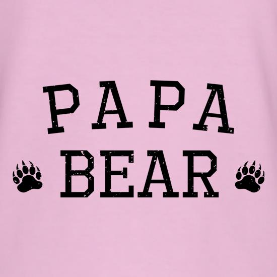 Papa Bear Paws t-shirts