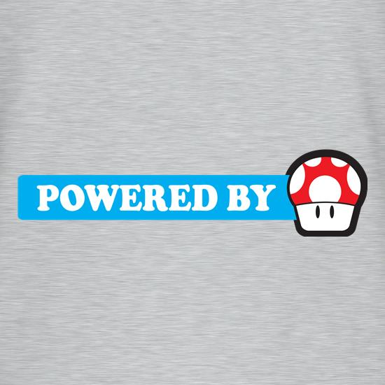 Powered By Mushroom t-shirts