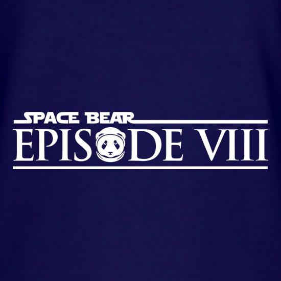 Space Bear: Episode 8 t-shirts