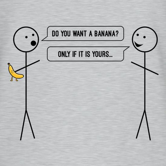Stickman Banana t-shirts