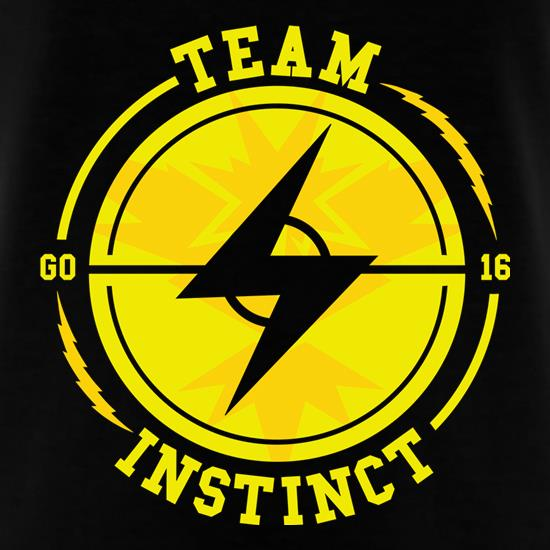 Team Instinct GO t-shirts