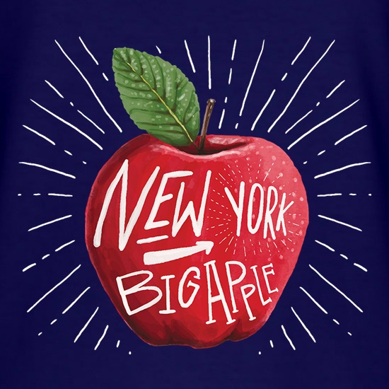 The Big Apple t-shirts
