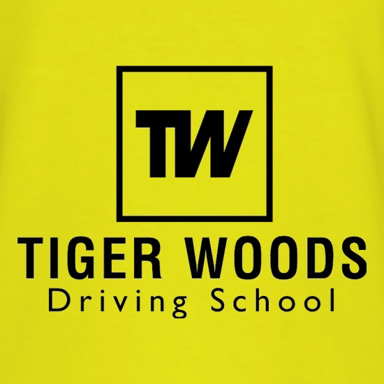 Tiger Woods Driving School t-shirts