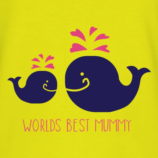 Worlds Best Mummy t-shirts