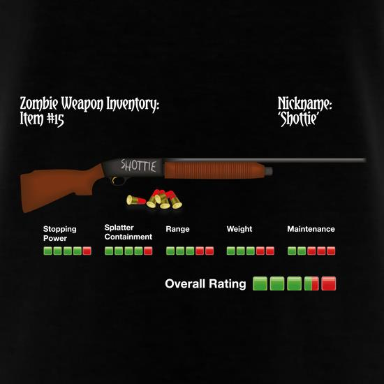Zombie Shottie t-shirts