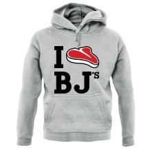 I Steak BJ's t shirt