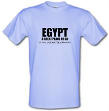 Egypt A Great Place To Go If You Like Water Cannons t shirt