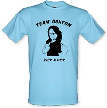 Team Ashton, Suck a Dick t shirt