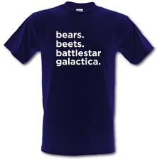 Bears, Beets, Battlestar Galactica t shirt