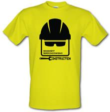 Emmet Brickowski Construction t shirt