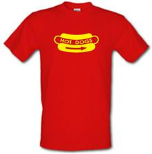 Hot Dogs t shirt
