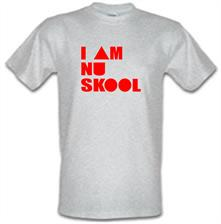 I am Nu Skool t shirt