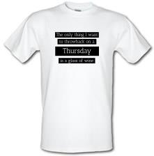 Throwback Thursday t shirt