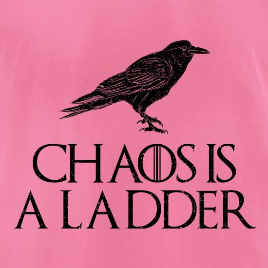 Chaos is a Ladder t shirt