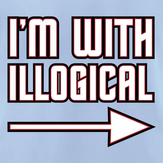 I'm With Illogical t shirt