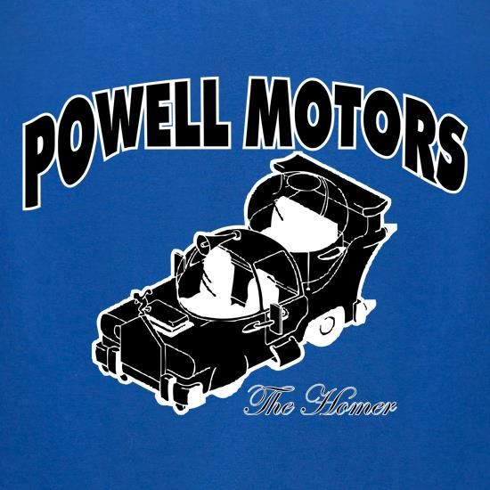Powell Motors t shirt