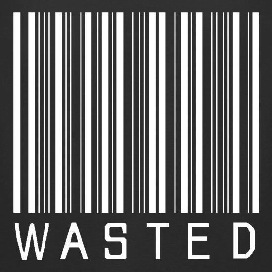 Wasted Barcode t shirt