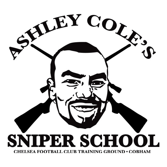 Ashley Coles Sniper School t shirt
