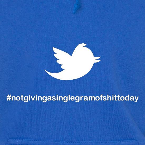 Not Giving A Single Gram Of Shit Today t shirt